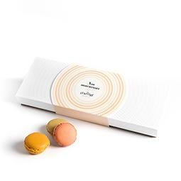 Coffret 12 macarons assortis