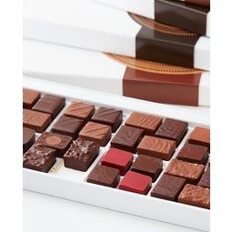 Coffret de bonbons de 40 chocolats assortis