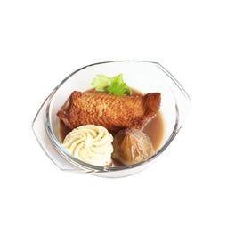 Filet de canette, figues rôties & mousseline de céleri Cocotte