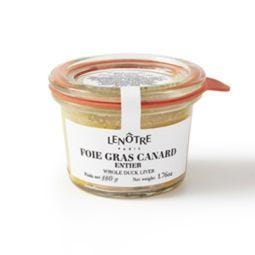 Verrine de foie gras de canard  180 g