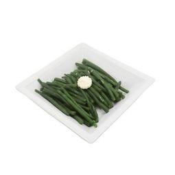 Haricots verts frais au beurre persillé Cocotte