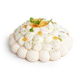 Pavlova citron menthe gingembre  400 gr - 6 pers