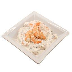 *Salade de gambas à l'aneth 250 g