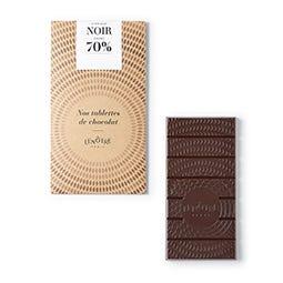 Tablette chocolat noir 80 g