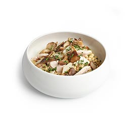 Salade de Frégola à la volaille, pleurotes et salsifis 250 g